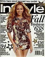 InStyle Magazine ~ September 2011 ~ Beyonce/ Jessica Chastain/ Alexa Chung/ Kardashian Sisters/