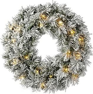 lit wreath uk