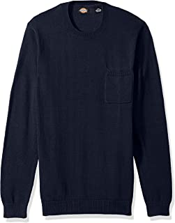 Men's Crew Pullover with Patch Pocket