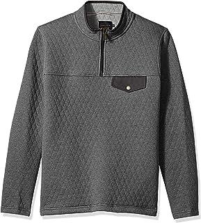 Pendleton Men's Long Sleeve Steens Quilted Popover Sweatshirt Sweatshirt