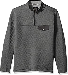 Pendleton Men's Long Sleeve Steens Quilted Popover Sweatshirt