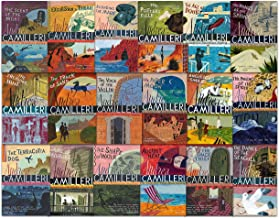 Inspector Montalbano Mysteries Collection Andrea Camilleri 18 Books Set (1-18)