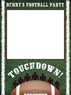 Football Sports Birthday Photobooth Frame, Sports Theme Decor, American Football, Football Birthday Party, Kids Birthday Decorations, Gift Ideas, Kids, Handmade Party Supplies Photo Size 24x36,48x36