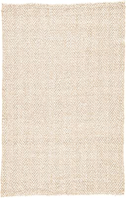 Jaipur Haxel Area Rugs 5'X8' Beige, White