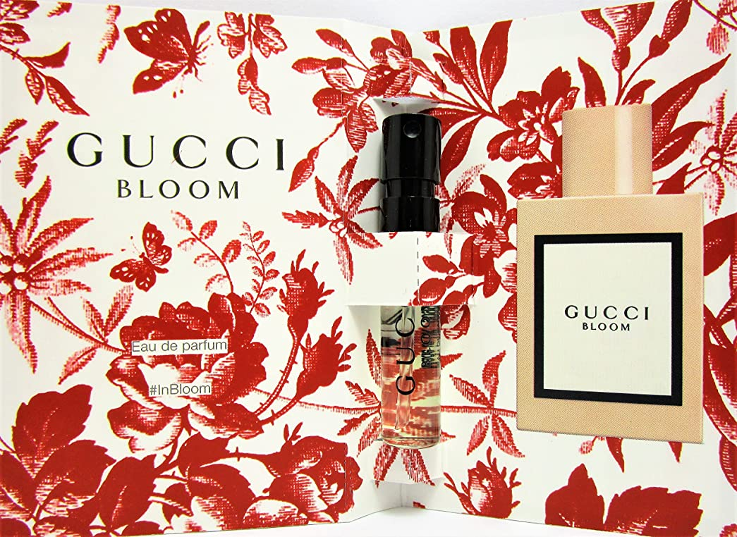 旅客悪用コーナーGucci Bloom (グッチ ブルーム) 1.5 ml EDP Sample (メーカーオリジナルサンプル) for Women