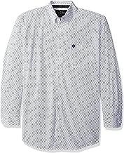 Wrangler Men's Big & Tall George Strait One Pocket Long Sleeve Button Shirt