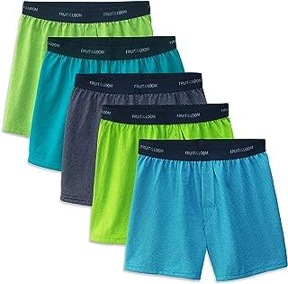 Big Boys' 5 Pack Knit Boxer