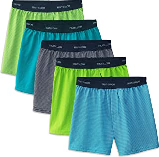 Fruit of the Loom Big Boys' 5 Pack Knit Boxer
