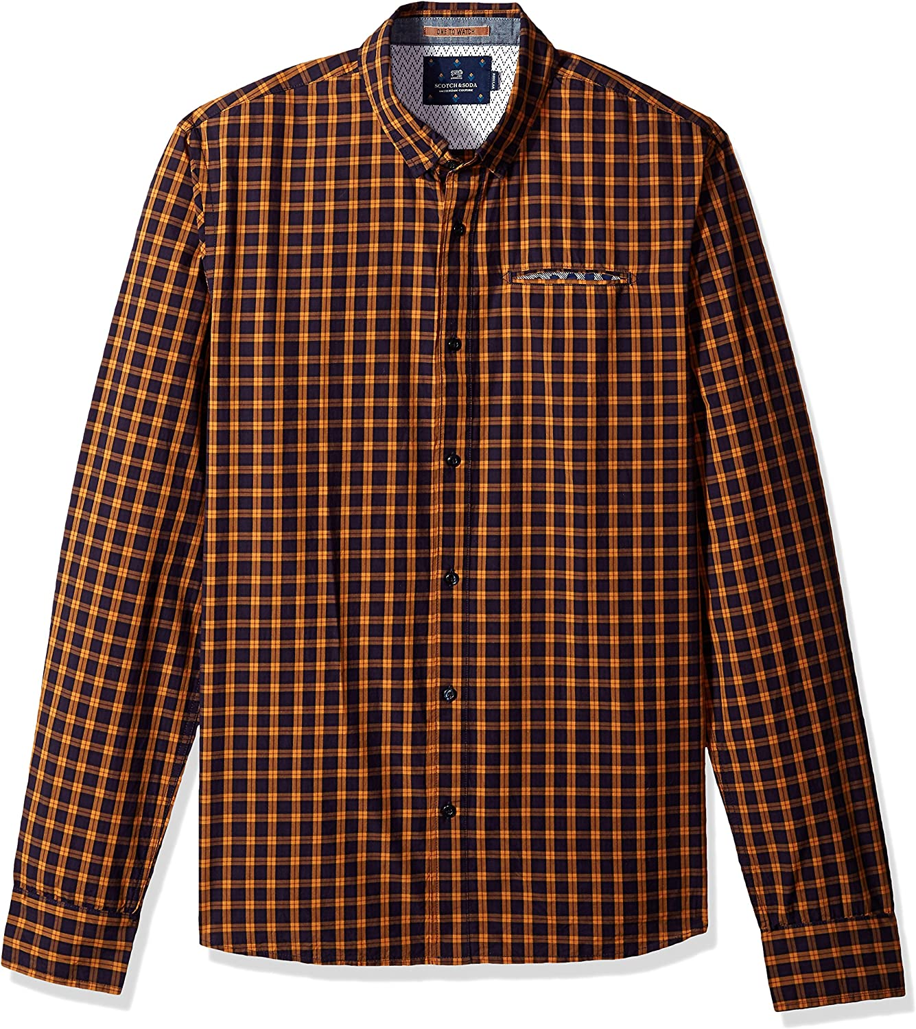 Scotch Ranking integrated 1st place Soda San Diego Mall Men's Mini-Patterned Shirt