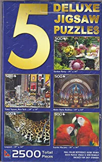 5 CASSE-TETE DE LUXE PUZZLES- KITTENS AND DOGS