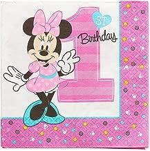 American Greetings Minnie Birthday Napkins