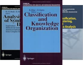 Studies in Classification, Data Analysis, and Knowledge Organization (34 Book Series)