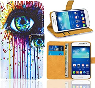 Samsung Galaxy Grand Neo Plus Funda, FoneExpert® Wallet Flip Billetera Carcasa Caso Cover Case Funda de Cuero Para Samsung Galaxy Grand Neo Plus i9060 / Galaxy Grand Neo (Pattern 10)