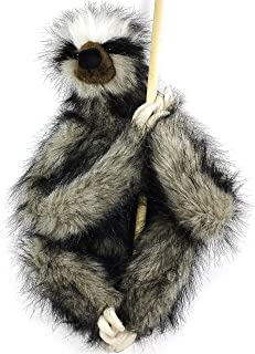 VIAHART Shlomo The Three-Toed Sloth | 18 Inch Super Realistic Large Stuffed Animal Plush Toy with Magnetic Paws | by Tiger Tale Toys