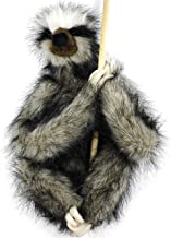 VIAHART Shlomo The Three-Toed Sloth   18 Inch Super Realistic Large Stuffed Animal Plush Toy with Magnetic Paws   by Tiger Tale Toys