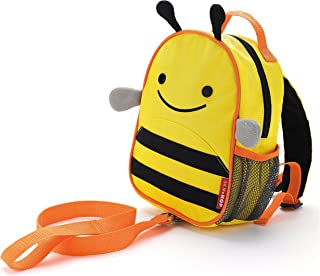 Skip Hop Zoo Let Mini Backpack with Rein, Bee