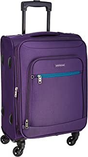 Aristocrat Nile Polyester 54 cms Purple Soft Sided Carry-On (STNILW54PPL)