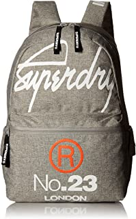 Superdry Men's International Montana Backpack, Light Grey Marl, One Size