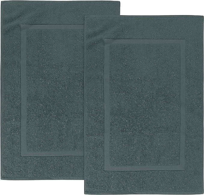 6104 opinioni per Utopia Towels- 2 Tappeti da Bagno in Cotone, (53 x 86 cm), 100% Cotone