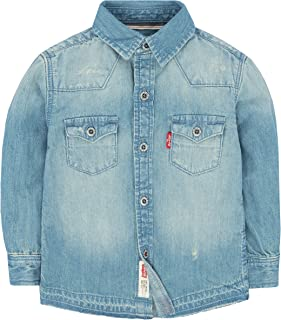 Levi's Baby Boys' Long Sleeve Button Up Shirt