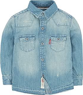 Baby Boys' Long Sleeve Button Up Shirt