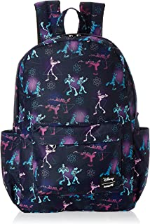 Loungefly A Goofy Movie Powerline All Over Print Nylon Backpack - WDBK0983