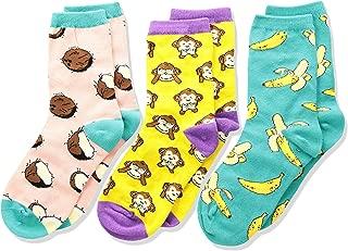 Socksmith Kids Novelty Crew Socks 3-pack