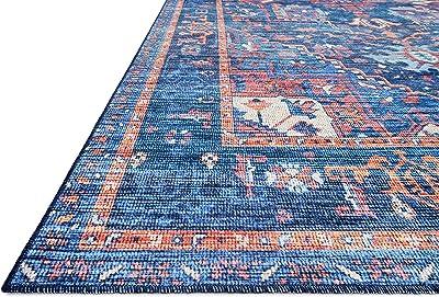 Loloi CIELCIE-04BBML80A0 Cielo X Justina Blakeney Collection Area Rug, 8' x 10', Blue/Multi