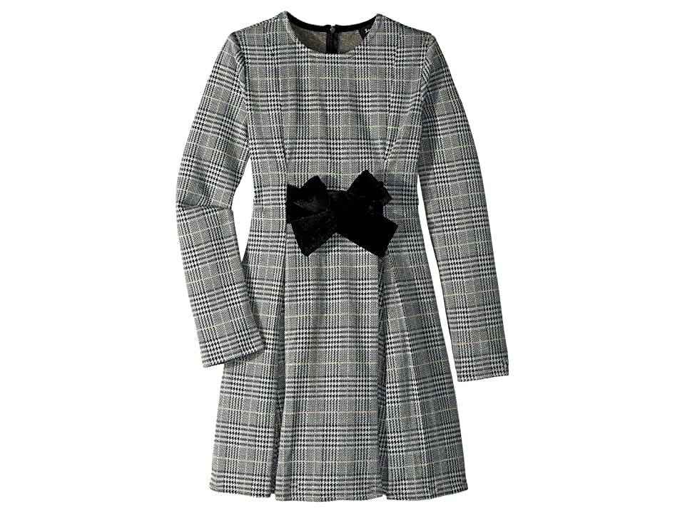 Bardot Junior Kenna Jacquard Dress (Big Kids) (Check) Girl