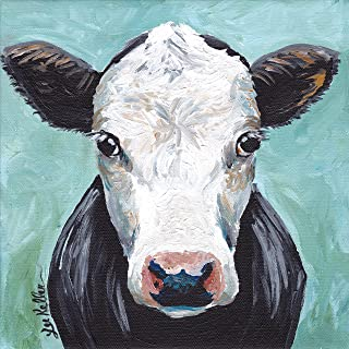 Cow art Print, Maybeline the Cow