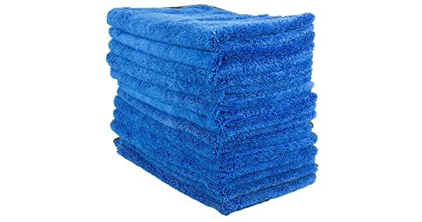 12 Towels + 1 Free Perfect Cleaning Ultra Plush /& Absorbent Zwipes 606-13 Large Microfiber Cloth 13 Pack Wash or Car Detailing-16 x 16
