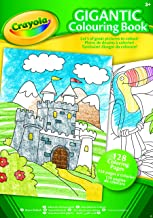 CRAYOLA 04-1407-E-000 Gigantic Coloring Book 128pg
