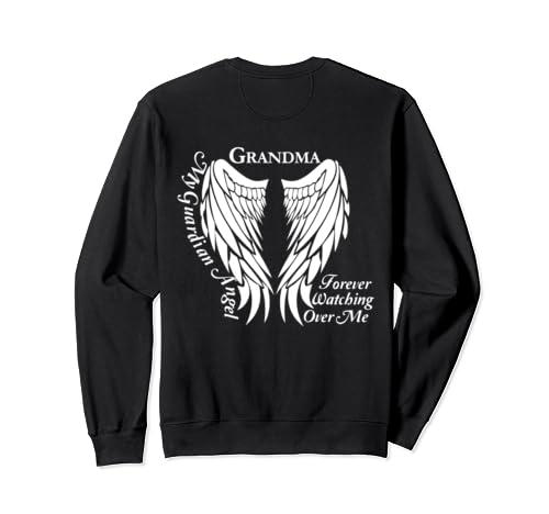 Grandma Guardian Angel - Memorial Gift for Loss of Grandma Sweatshirt