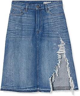 G-STAR RAW 3301 A-Line Midi Skirt, Gonna Donna