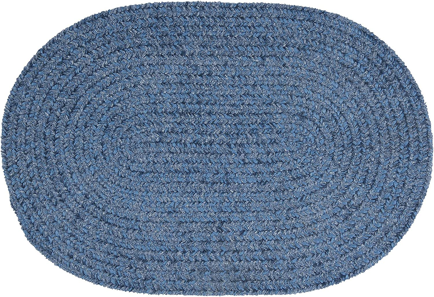 Colonial Max 67% OFF Mills Barefoot Max 42% OFF Chenilled Bath 34 22 x Blue Rug
