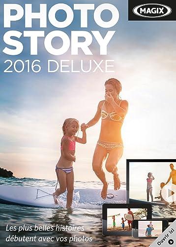 avis logiciel album photo professionnel MAGIX Photo Story 2016 Deluxe [Téléchargement]