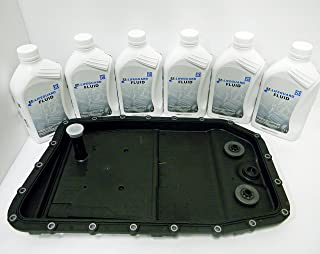 ZF Automatic Transmission Oil Pan Filter Kit 0501216243 and 6 Liters of ZF Transmission Fluid Lifeguard 6
