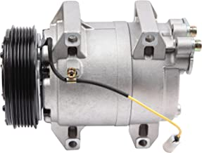 SCITOO Compatible with Auto Repair Compressor Assembly CO 11044JC AC Compressor and A/C Clutch Kit fit 2001-2009 Volvo S60 S80 V70 XC70 2.3L 2.4L 2.5L