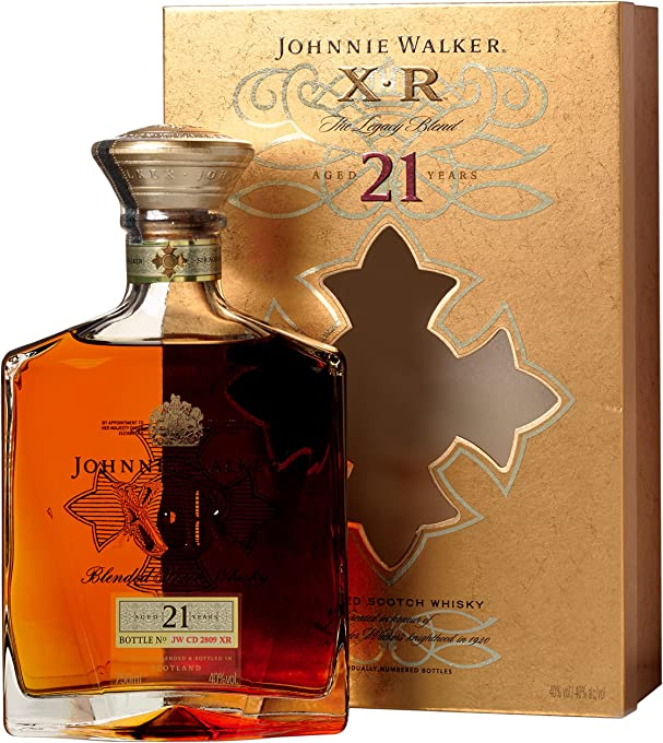 Johnnie Walker XR-21, Blended Scotch Whisky, 21 year old, 750 ml