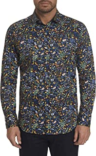 Robert Graham Gin Blossom Long Sleeve Printed Sport Shirt Classic Fit
