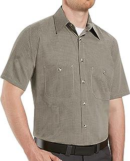 Red Kap Men's Performance Tech 7 Button Shirt