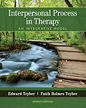Interpersonal Process in Therapy: An Integrative Model PDF