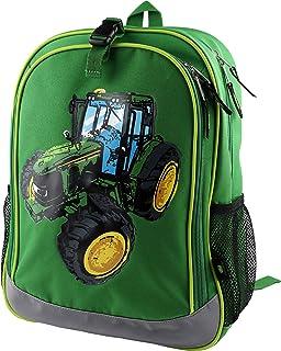 John Deere Boys' Child Tractor Backpack