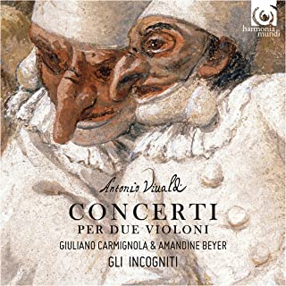 ヴィヴァルディ : 2つのヴァイオリンのための協奏曲集 (Antonio Vivaldi : Concerti per Due Violoni / Gli Incogniti, Giuliano Carmignola & Amandine Beyer) [輸入盤] [日本語帯・解説付]