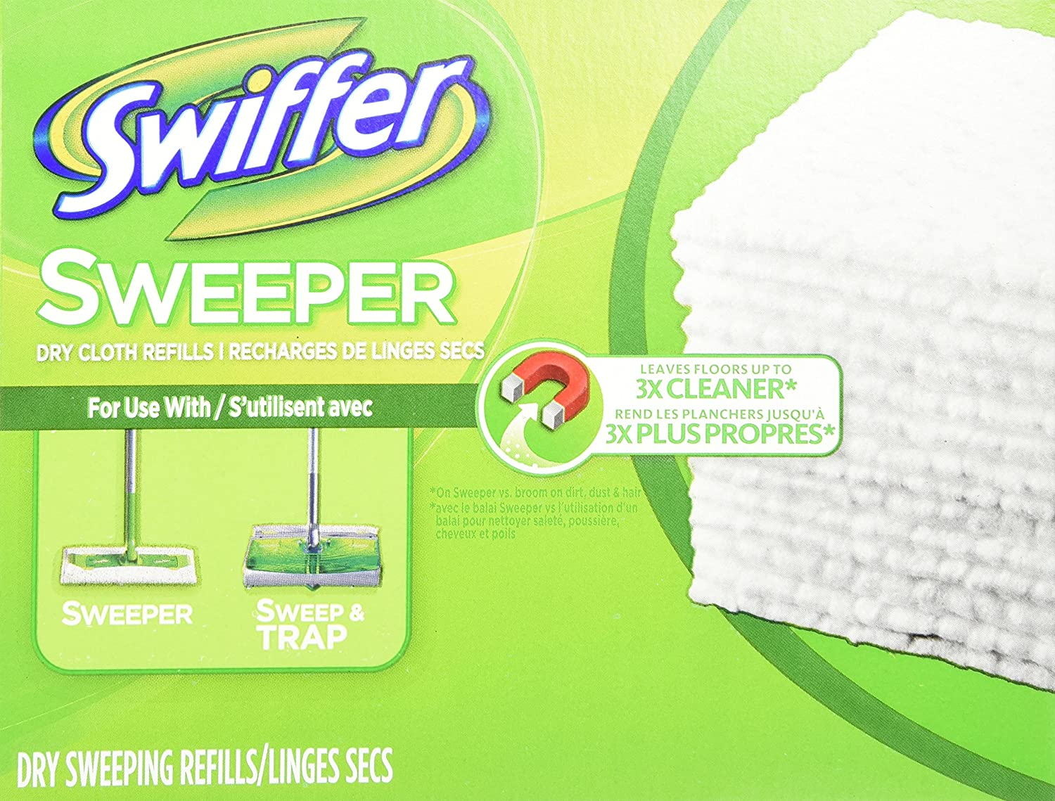All stores are sold Swiffer Ranking TOP11 Sweeper Dry Cloth 80 Refill Count