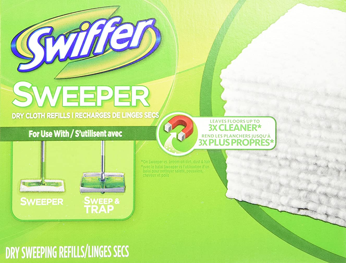 Swiffer Swiffer Sweeper Dry Cloth Refill, 80 Count oelns5908