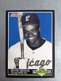 1991 Score 874 Frank Thomas NM/M (Near Mint/Mint)