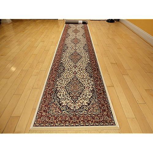 Silk Area Rugs Luxury 2x12 White Classic Carpet 2x11 Hallway Runner Rugs Persian Area Rugs Narrow