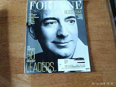 Fortune Magazine (April 1, 2016) Jeff Bezos Cover