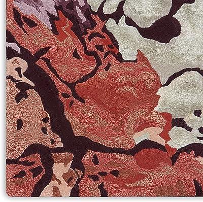 """Nourison Prismatic Abstract Multicolor 2' x 3' Area Rug , 2'3"""" x 3', Multi Color"""